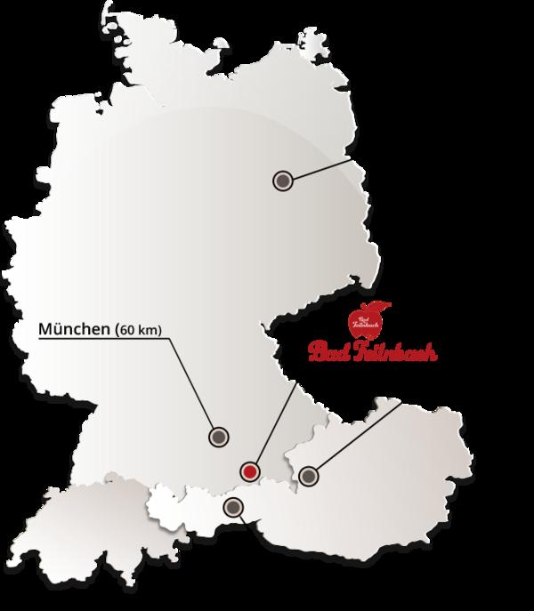 Alle Anreisemöglichkeiten Zum Kurort Bad Feilnbach